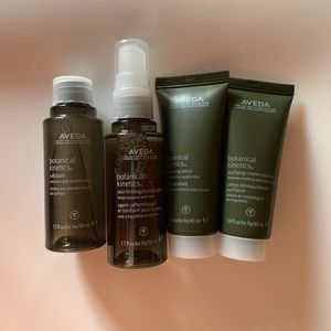 AVEDA botanical kinetics 4 step skin care kit